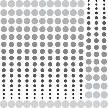 ball point: Abstract monochrome halftone geometric pattern, seamless vector background. Simple black and white repeating texture. Modern contrast graphic with dots, circle, ball or point.