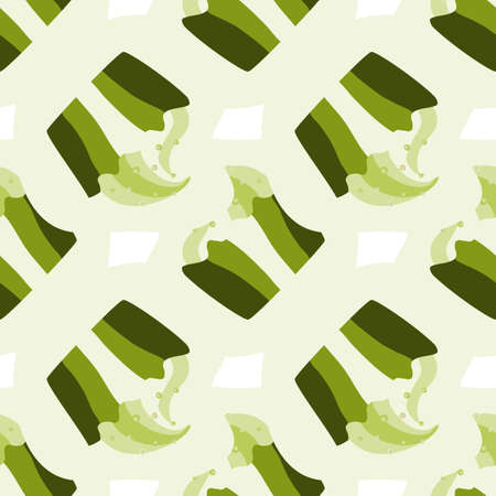 resentful: Green pistachio ice cream, cake or frozen yogurt seamless background. Hand-drawn pattern for print, menu, package design, wrapping, textile, web, cafe, restaurant, pastry shop