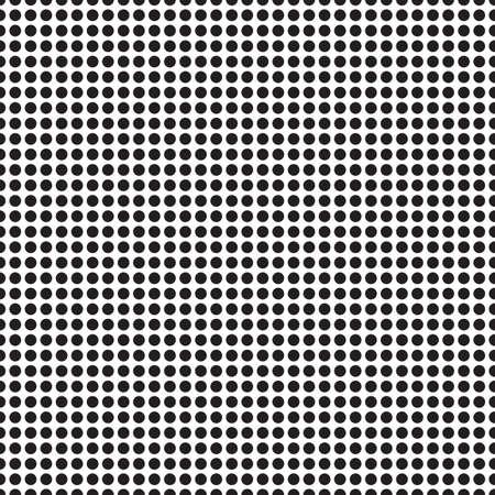 Résumé monochrome motif géométrique, seamless fond. Simple texture noir et blanc répéter. graphique de contraste moderne avec des points, cercle, boule ou d'un point.