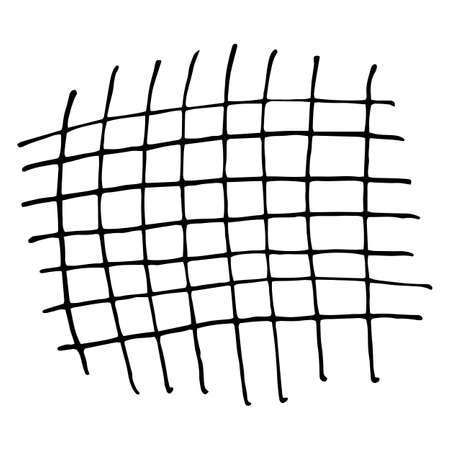 garabatos: Pencil Doodle Template or Element. Hand Drawn Scribble Sketch Background