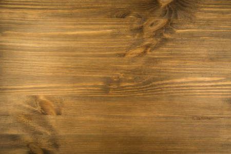 Old Wooden Texture Top View. Dark Brown Wood Grain Background. Vintage Pine Table Top. Beautiful Natural Pattern