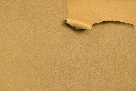 Old Terracotta Texture or Beautiful Orange Peeling Wall