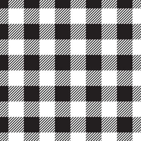 Modèle sans couture de vichy pour la conception de tissu de restaurant ou de tissu de l'Écosse. Fond de nappe à carreaux traditionnel. Illustration vectorielle écossais