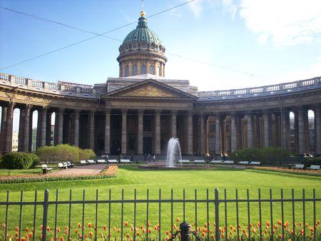 sobor: Kazanskii sobor, St Petersburg