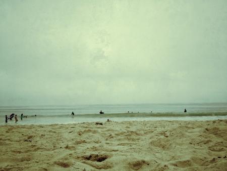 A cloudy day in Dana Point CA