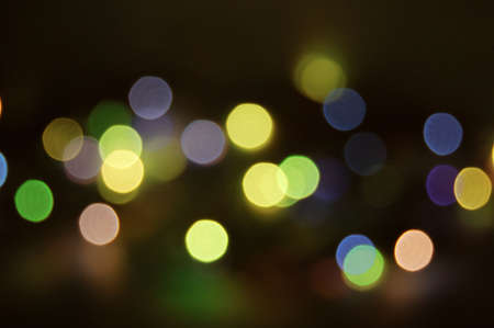 colorful abstract holiday lights background Stock Photo - 3524182