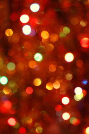 colorful abstract holiday lights background Stock Photo - 3534983