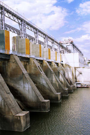 Hydroelectric pumped storage power plant photo