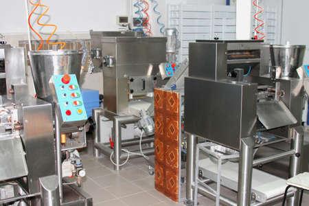 Part of manufacture meat production plant