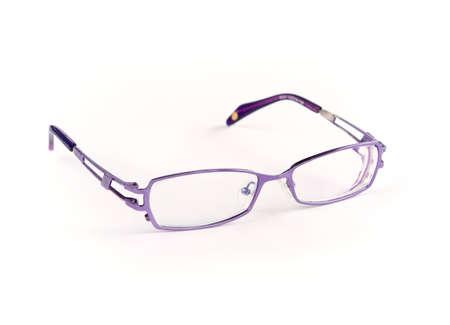 Glasses against the white background.