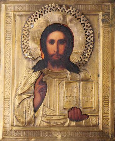 Old orthodox Russian church icon