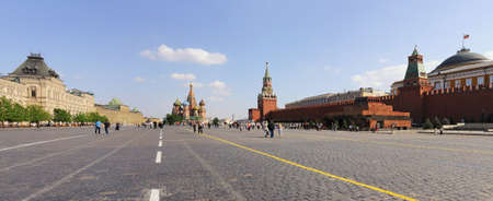 Panorama of Red Square in Moscow