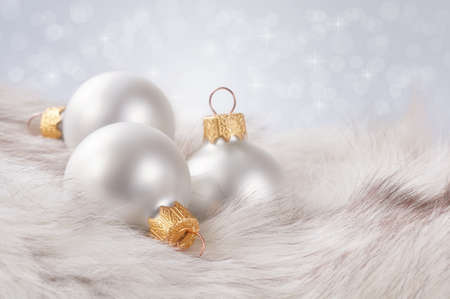 Beautiful background with Christmas decorations. Stock Photo