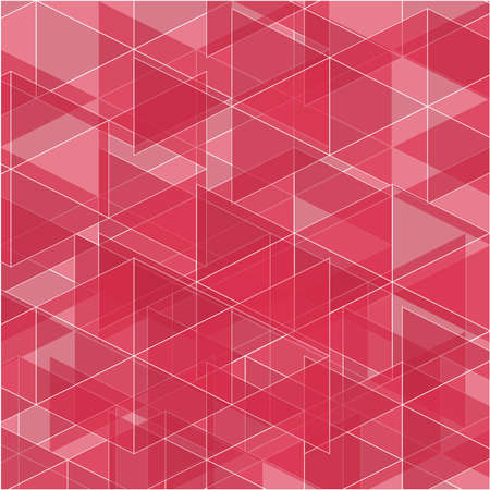 sprawl: Abstract triangle geometric pink background