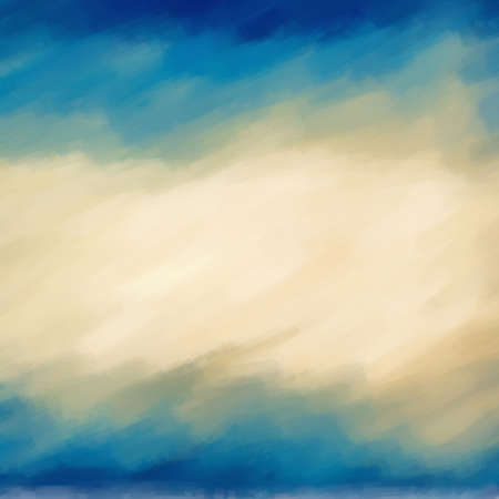 Abstract art watercolor blue background