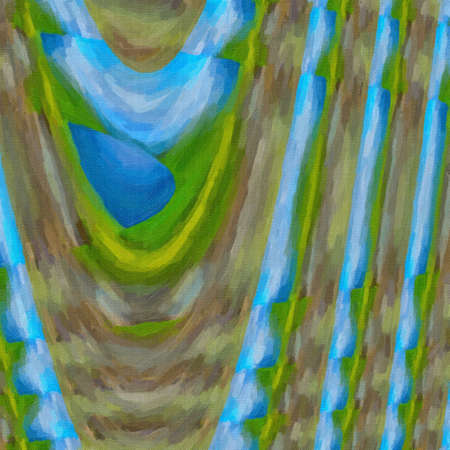 crankle: Abstract digital colored twisted background