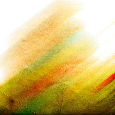 digital imitation of watercolor painting on textured paper