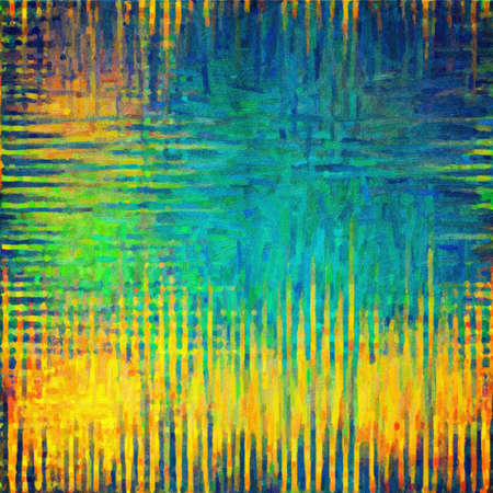 This image was created as digital imitation of oil painting on scratched texture Stock Photo