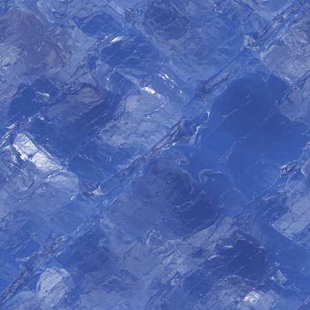 coating: Icy blue seamless texture background with cracks Stock Photo