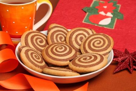 galletas de navidad: En blanco y negro galletas de Navidad