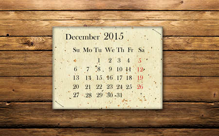december: December 2015