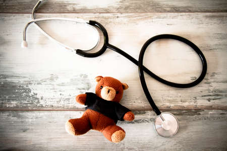 throb: paediatrics Stock Photo