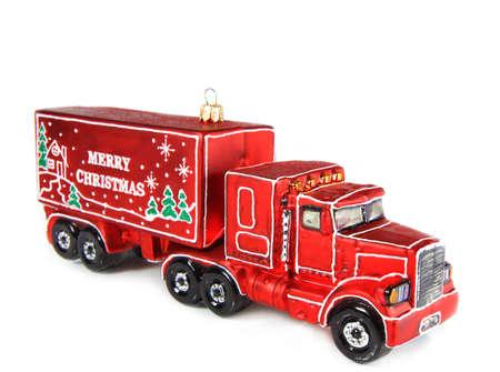 truck to hang Christmas tree