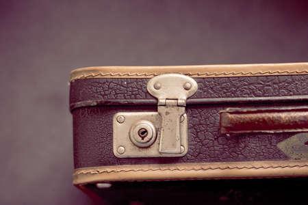 Ancient suitcase