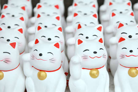 superstition: Good Luck Cat Statues
