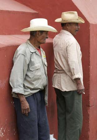 oaxaca: Oaxaca, Mexico-December 2008: Mexican migrant workers.