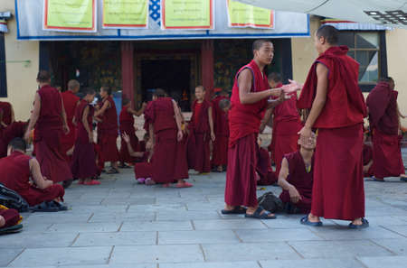 debating: Debating Monks