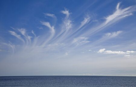 mares tail cloud formation Stock Photo - 5285155