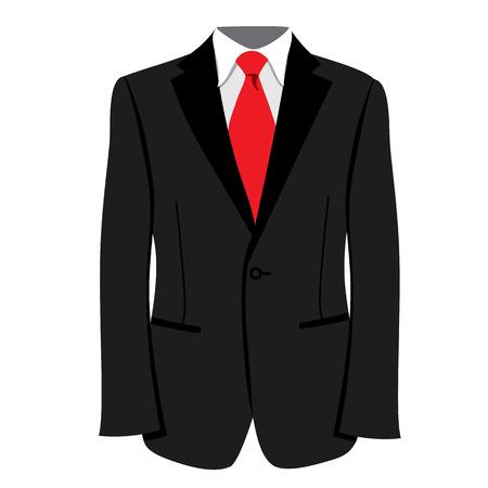mens tuxedo or jacket. Men tuxedo, jacket illustration. Mens fashion