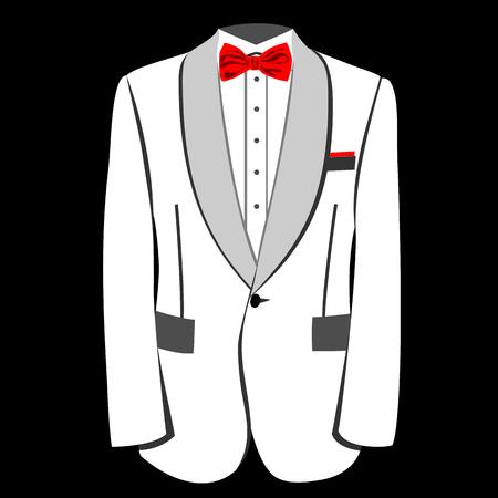 mens fashion: mens tuxedo or jacket. Men tuxedo, jacket illustration. Mens fashion