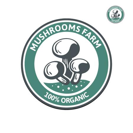 Mushroom logo templates for your design mushroom badges labels mushroom logo templates for your design mushroom badges labels brochures business templates wajeb Gallery