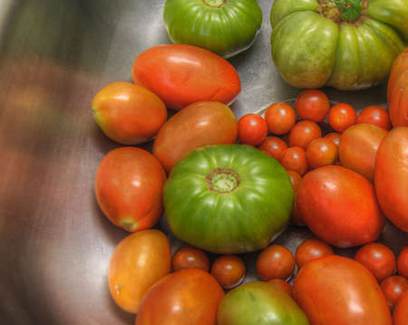 Red & Green Garden Tomatoes