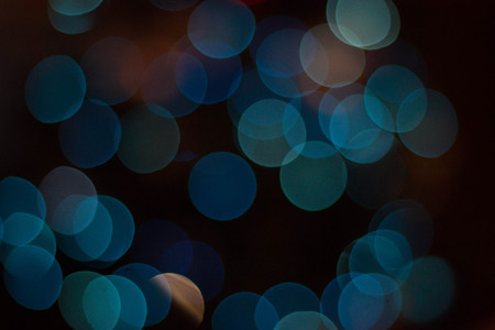 abstract background of blurred lights or bokeh background or overlay