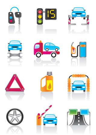 public services: Car service, auto assistance and auto accessories