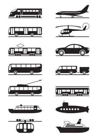 passenger buses: De pasajeros y el transporte público Vectores