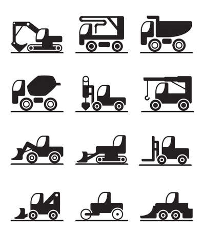lift trucks: Construction  trucks and vehicles