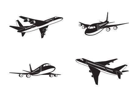 Passenger airplanes in perspective