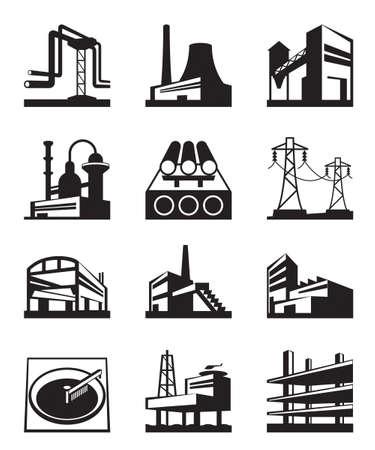 refinaria: Diferentes tipos de constru