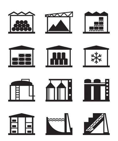 Industriële en commerciële magazijnen