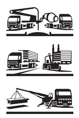 Construction et levage transport