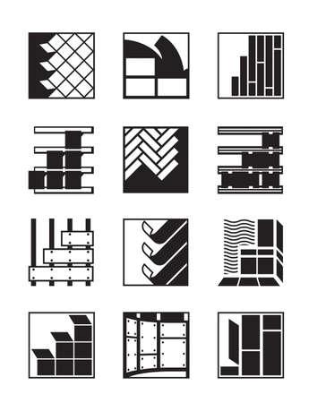 an exterior: Decoration materials for interior and exterior