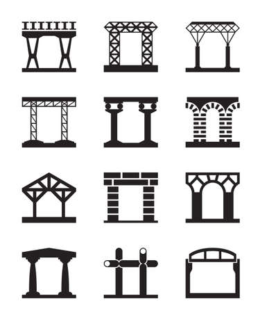 stone arch: Different types of building structures