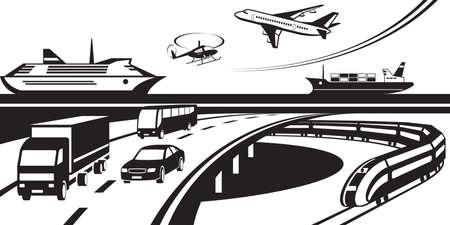 passenger transportation: Passenger and cargo transportation scene