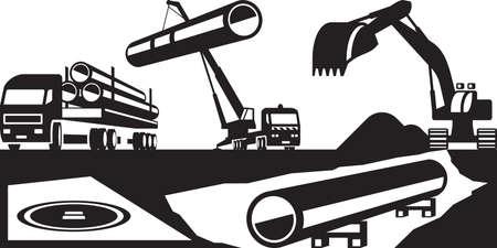 lpg: Construction of underground pipelines