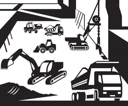 Construction et excavation machines