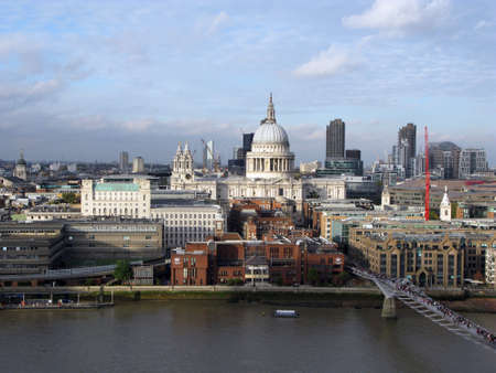 st pauls: View of St Pauls Cathedral, London, UK